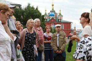 Центральная пригородная пассажирская компания запустила первый туристический маршрут в Коломну. Фото: Екатерина Якель.
