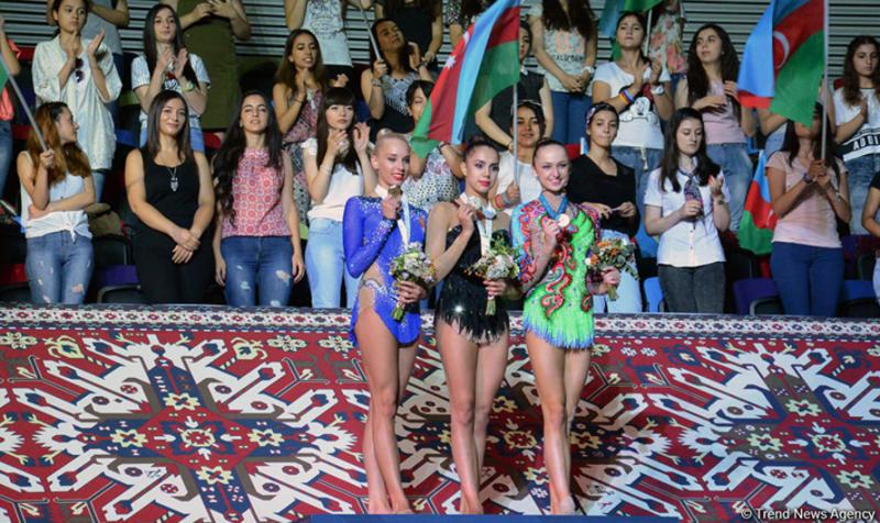 Московские гимнастки одержали победу на этапе кубка мира