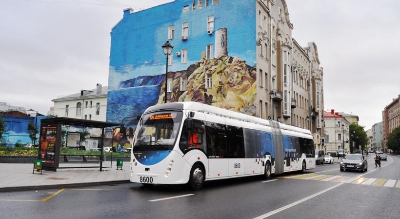 В Москве запущен первый электробус