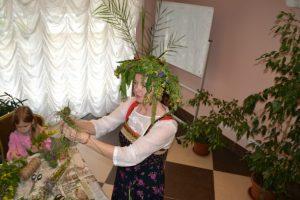 Во Дворце культуры «Московский» провели фольклорный квест «Где цветет папоротник». Фото: ДК «Московский» .