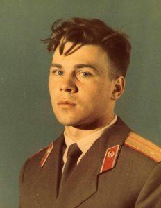 Лейтенант спецподразделения «Альфа» Дмитрий Рябинкин (фото сделано в 1993 году)