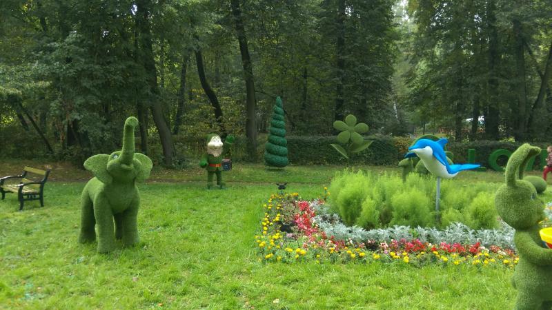Детский парк «Волшебное дерево» появится в Роговском к концу лета
