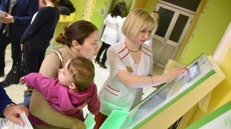 Детскую поликлинику в Сосенском введут в 2017 году