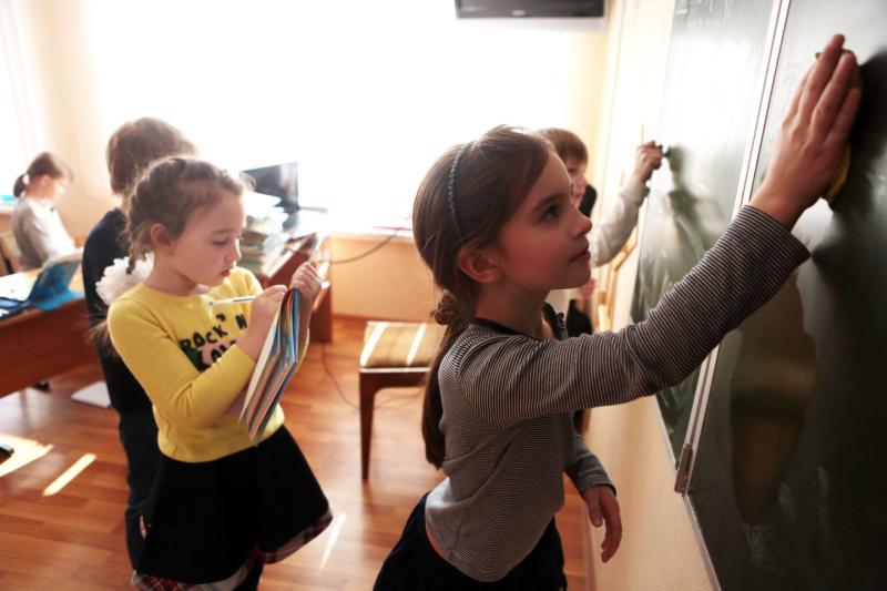"""Новая школа во Внуковском откроет двери в сентябре. Фото: архив, """"Вечерняя Москва"""""""
