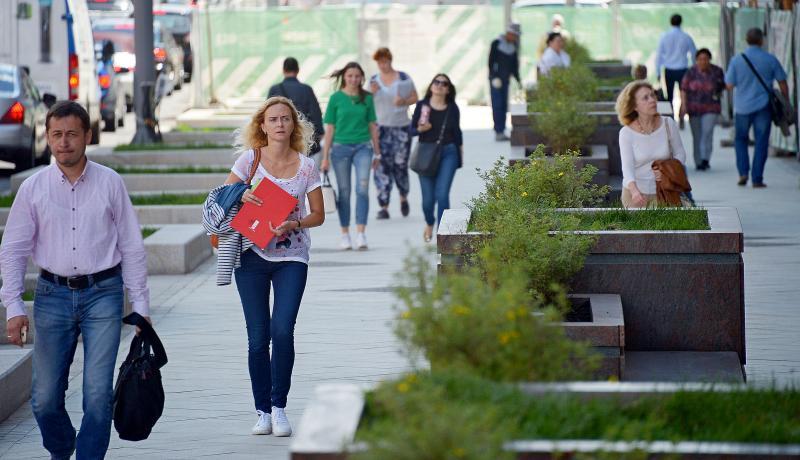 В сети появилось видео с квадрокоптера обновленной Тверской улицы