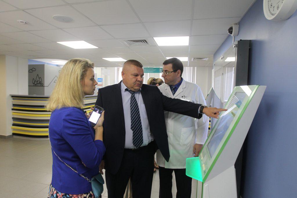 Руководитель Дирекции по обеспечению деятельности госучреждений здравоохранения ТиНАО Владимир Грицаюк