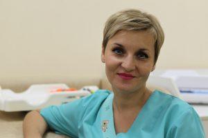 Одна из лучших медсестер ТиНАО по отзывам граждан Светлана Кухтина