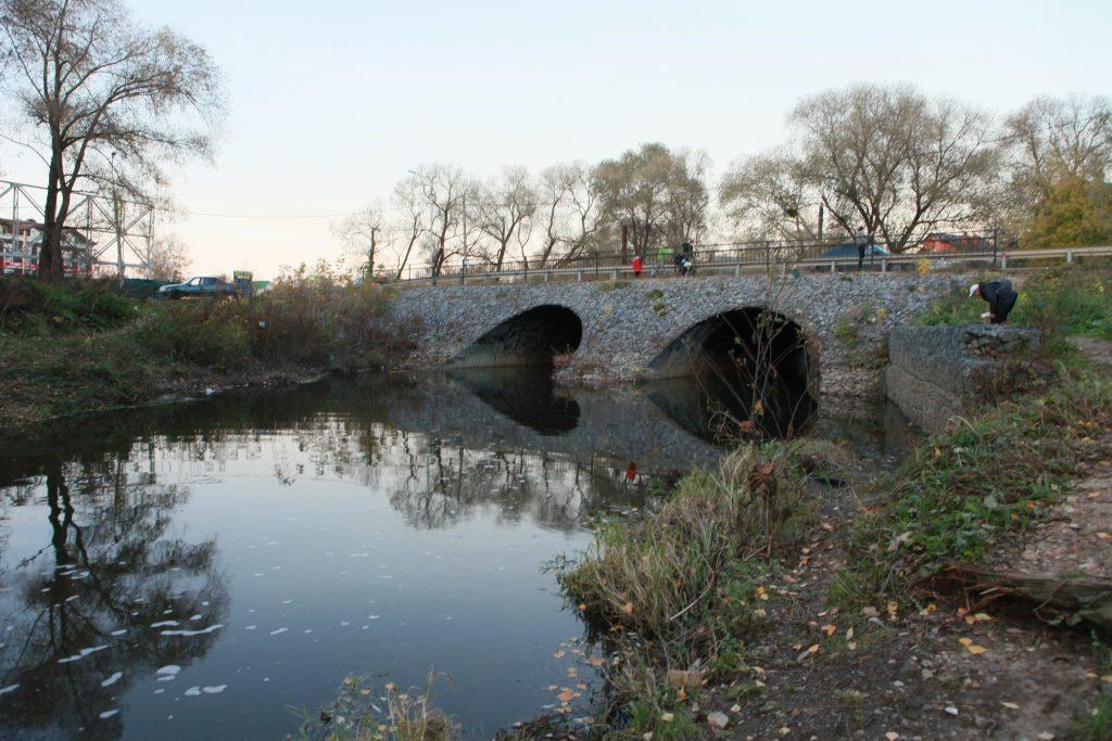 В Рязановском отремонтировали две плотины