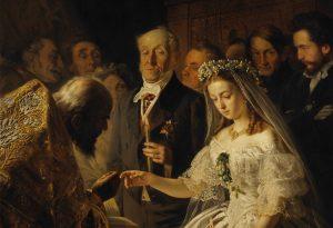 Картина «Неравный брак», написанная художником Василием Пукиревым.