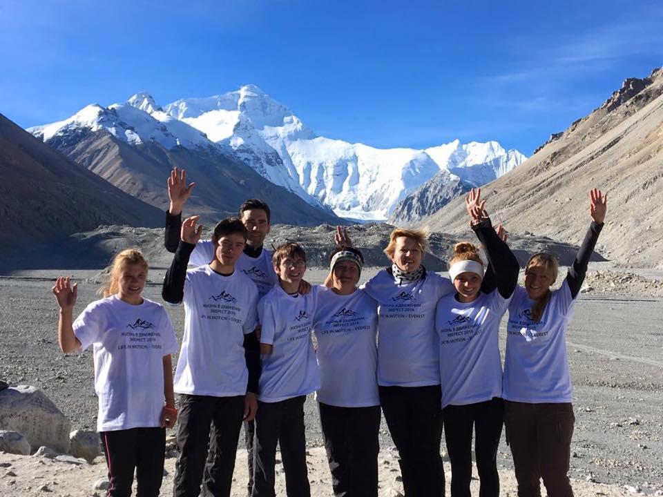 Филимонковские дети покорили Эверест