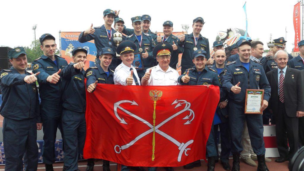 Команда спасателей Москвы победила в Открытом Чемпионате по боевому развертыванию