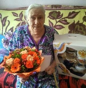 В Сосенском поздравили двух 90-летних юбиляров