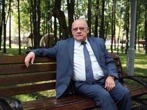 20 августа 2016 года. Ватутинки. Глава администрации поселения Десеновское Георгий Князев.
