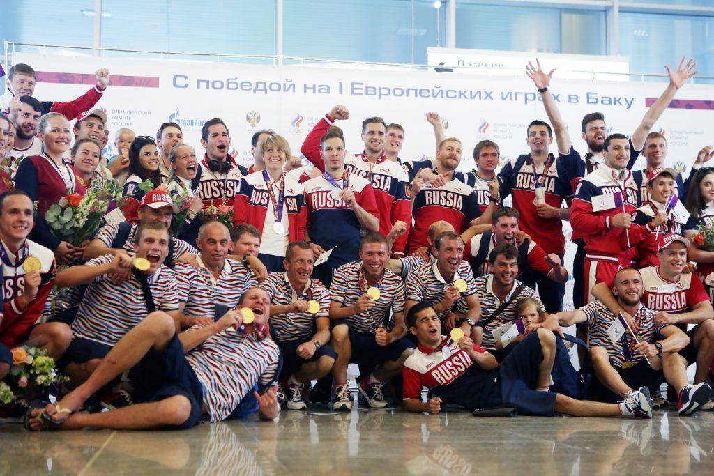Сборная России завоевывает новые медали