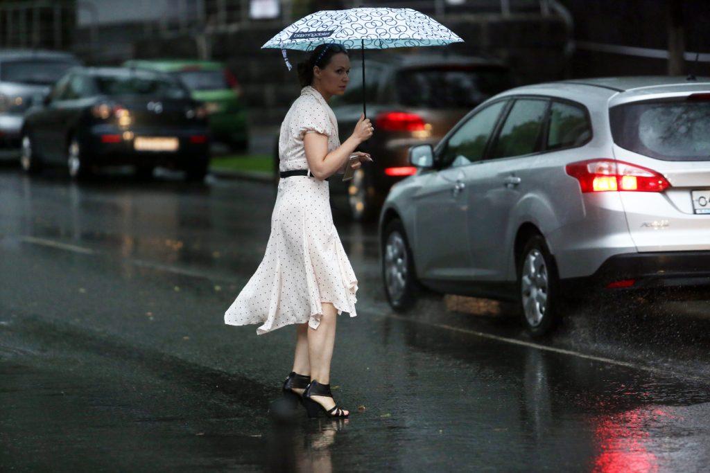 За сутки в Москве выпала половина месячной нормы осадков
