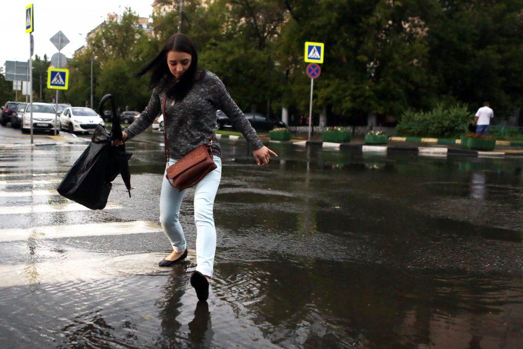 Погода на вторник: дождь и местами гроза