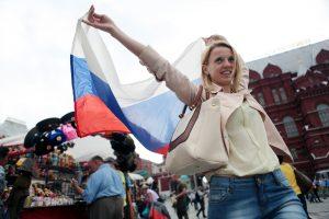 В ЦСО расскажут новофедоровцам о флагах. Фото: архив «Вечерняя Москва».
