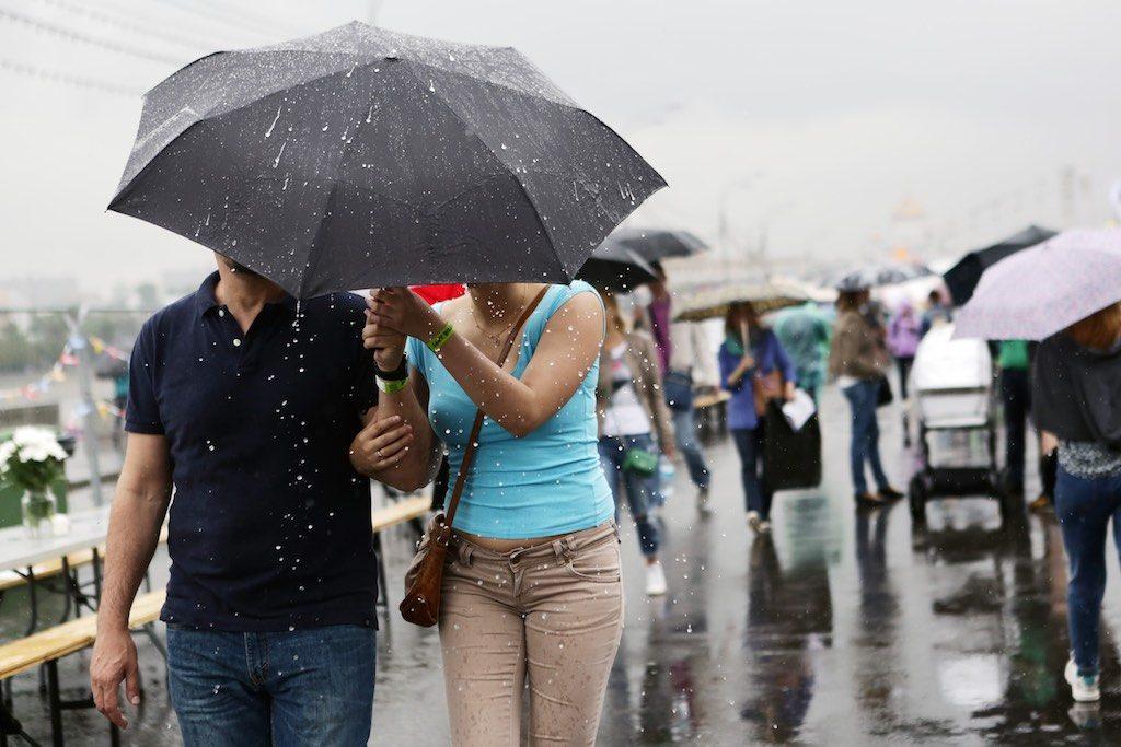 Оранжевый уровень погодной опасности объявлен в Москве 1-2 августа