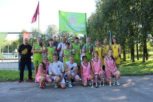 Фото предоставил тренер женской баскетбольной команды МБУ «Надежда» Вячеслав Калачев