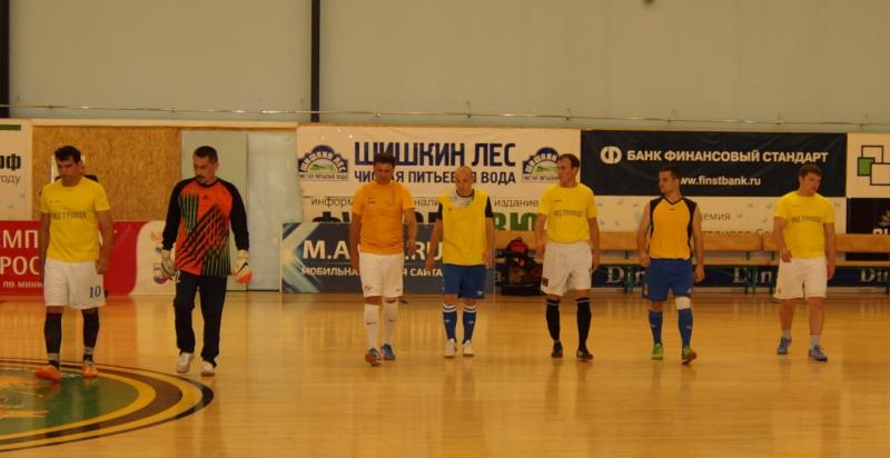Представители органов внутренних дел Новой Москвы сыграли в футбол