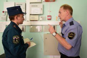Проверка противопожарной безопасности в школе №374