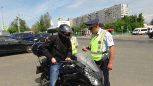 Госавтоинспекция провела мероприятие «Мототранспорт». Фото: пресс-служба УВД по ТиНАО.