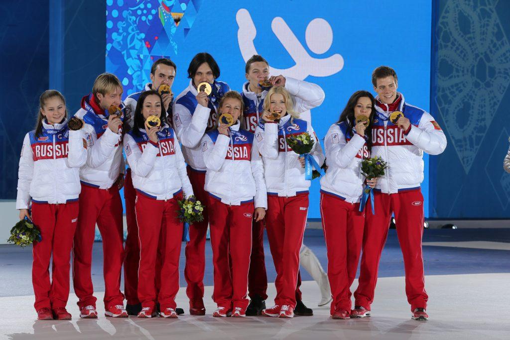 Сборная России в пятый день Олимпийских игр завоевала полный комплект наград