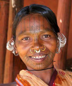 Представительница кхондов - коренного народа Индии. Фото: Википедия
