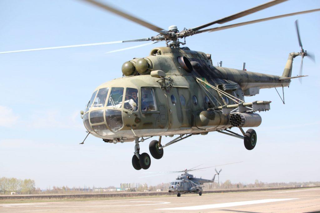 В Сирии сбили российский вертолет с пятью людьми на борту