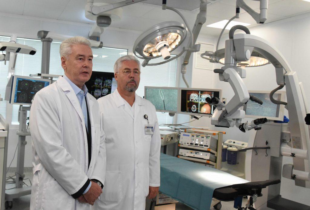 Собянин открыл после капремонта корпус №21 Боткинской больницы
