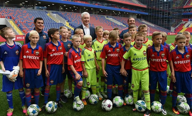 Собянин поздравил болельщиков ЦСКА с окончанием строительства клубного стадиона