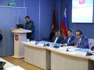 Фото предоставила пресс-секретарь Управления МЧС по ТиНАО Ирина Ким.