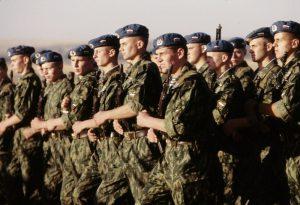 Российские десантники на учениях в Казахстане. Фото: Википедия