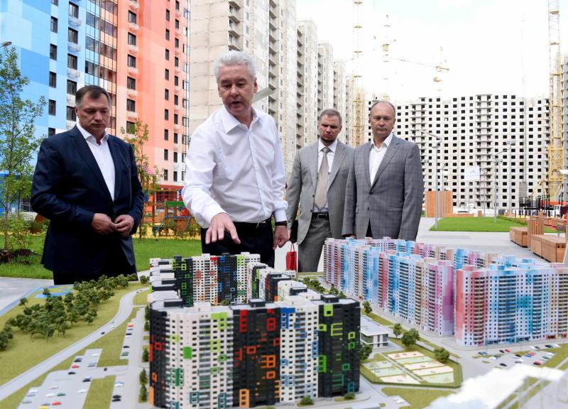 Собянин: В текущем году будет возведено более 3 млн. кв. метров жилья