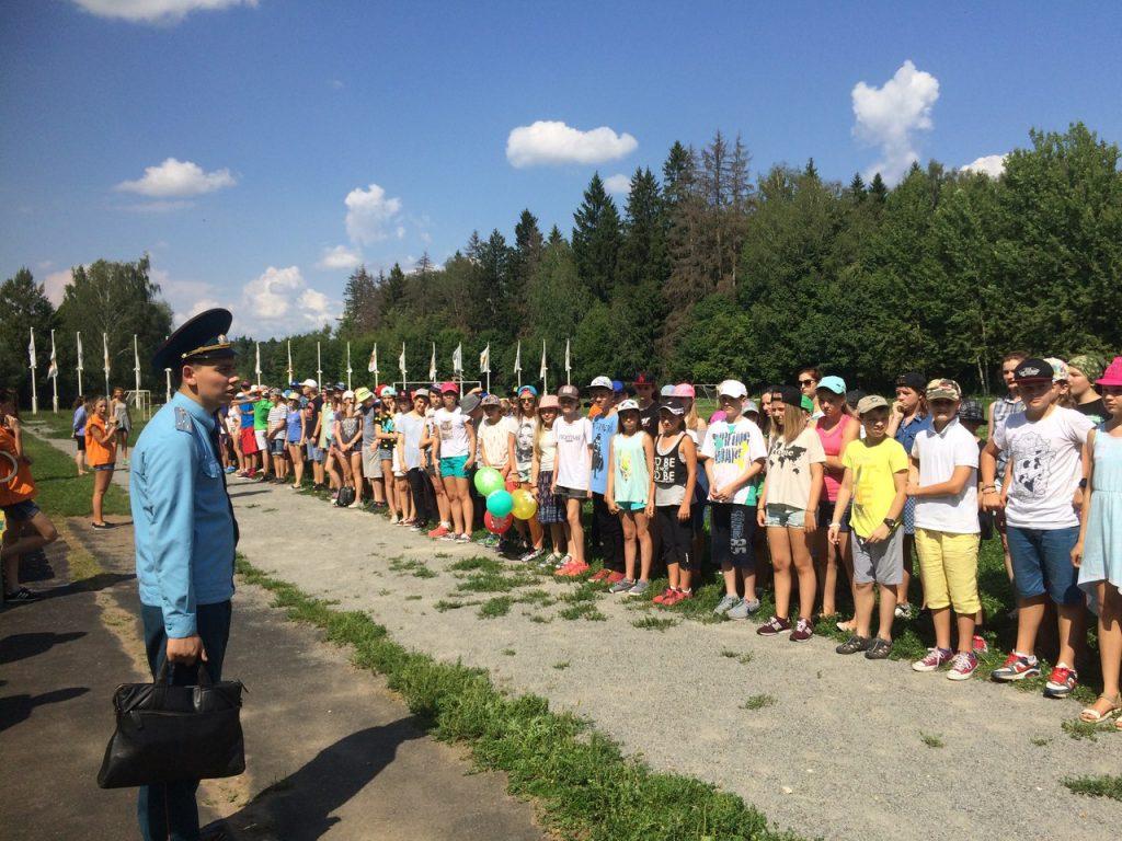 В «Умном лагере» провели учебную эвакуацию