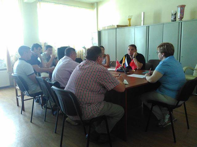 В Краснопахорском обсудили вопросы безопасности