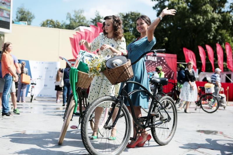В Москве прошел женский велопарад