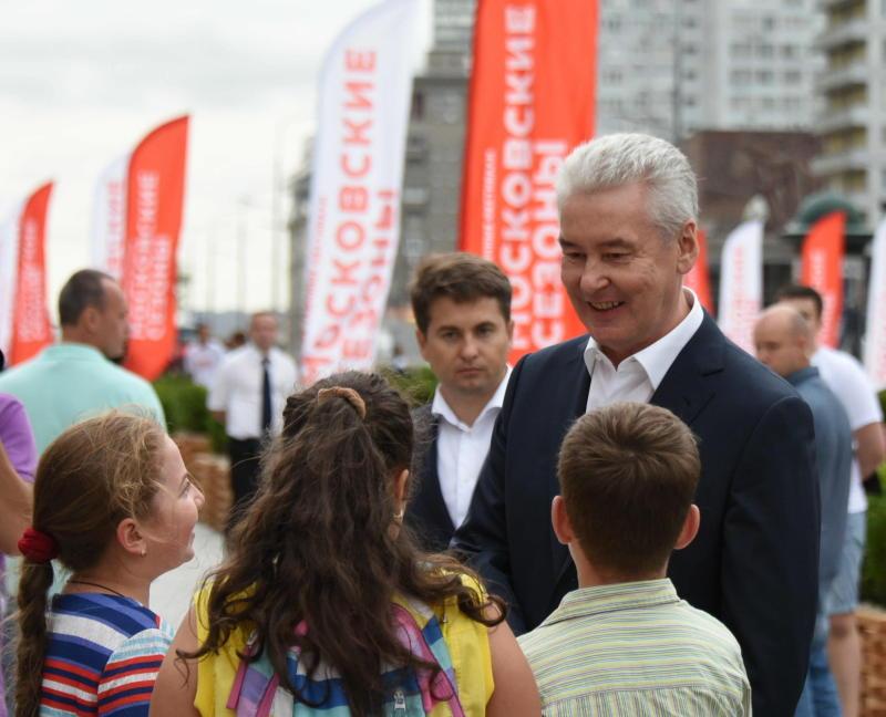 Собянин пригласил юных москвичей и их родителей на фестиваль