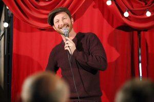 Британец Стив Форман в Москве исполнил свою мечту — стал стендап-комиком (фото сделано 30 октября 2015 года)