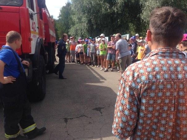 В детских лагерях провели учебные эвакуации