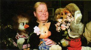Наталья Державина, голос Хрюши в передаче. Фото: wikipedia.ru