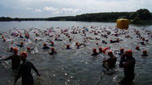 31 июля 2016 года. Соревнования по триатлону «Три Гром – Кленово Олимпик». Фото предоставил Юрий Пегунов.