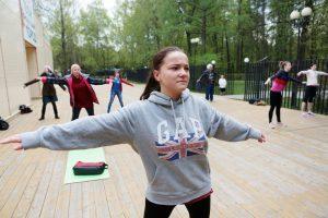 """Занятия по танцу живота стартуют в Гончаровском парке. Фото: архив """"ВМ"""""""