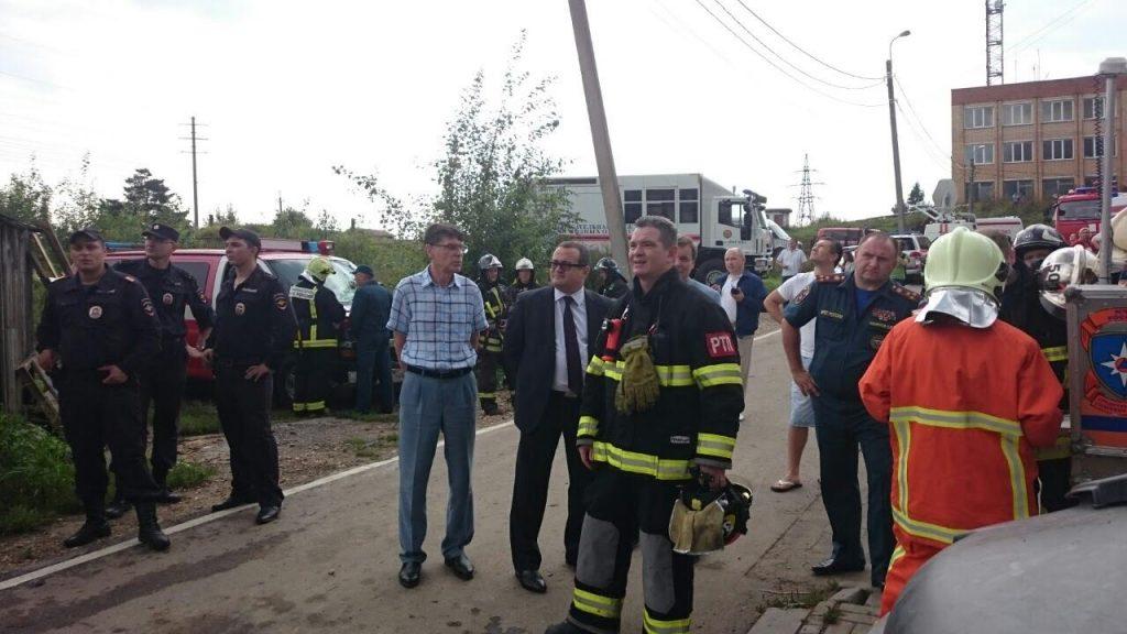 Пожар в Шишкином Лесу локализован