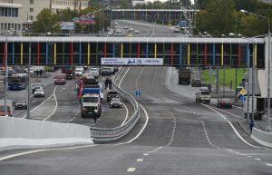 Новая эстакада на Щелковском шоссе готова к открытию