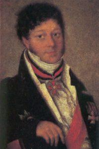 Портрет Петра Ивашева работы Семена Федорова (1839 год)