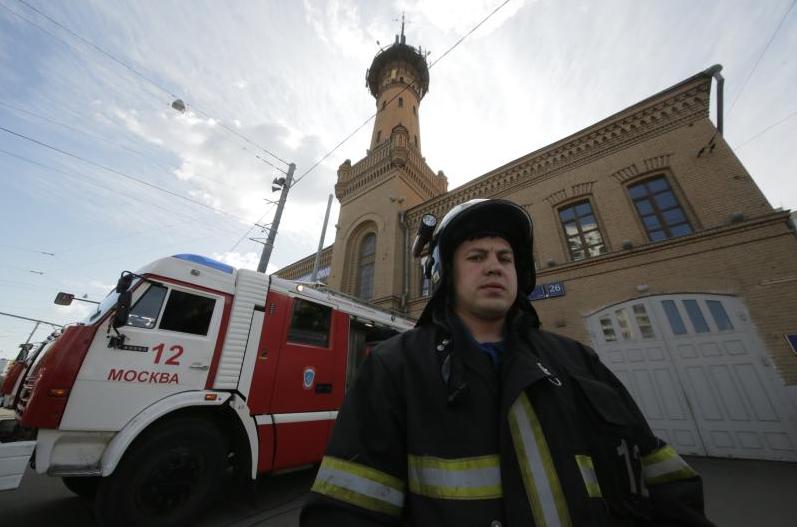 В здании Пенсионного фонда на западе Москвы произошел пожар