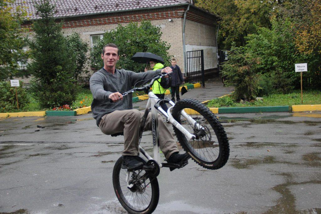Школы Новой Москвы поддержали акцию «На работу на велосипеде». Фото: сайт Школы № 2117
