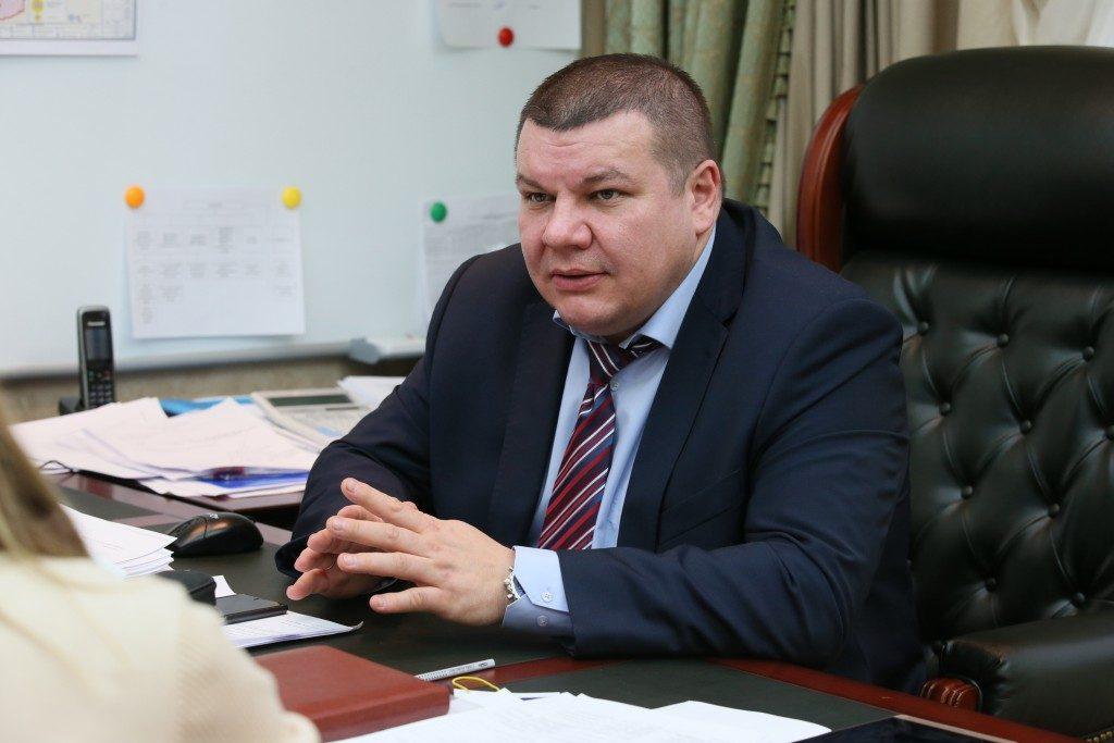 Владимир Грицаюк, руководитель Дирекции по обеспечению деятельности государственных учреждений здравоохранения ТиНАО (фото сделано 21 января 2016 года). Фото: Виктор Хабаров