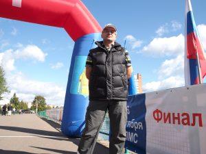 Директор турнира, член технического комитета Всероссийской федерации по легкой атлетике Вадим Злобин.